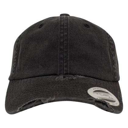 <b>Dad Cap</b> Destroyed <i>Black</i> <b>PERSONALISIEREN</b> - stickwerk-heilbronn.de