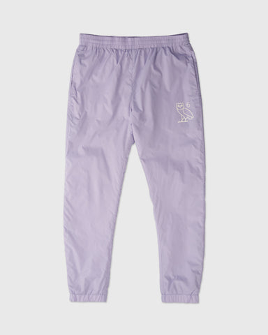 6 OWL PACKABLE TRACK PANT - PALE PURPLE