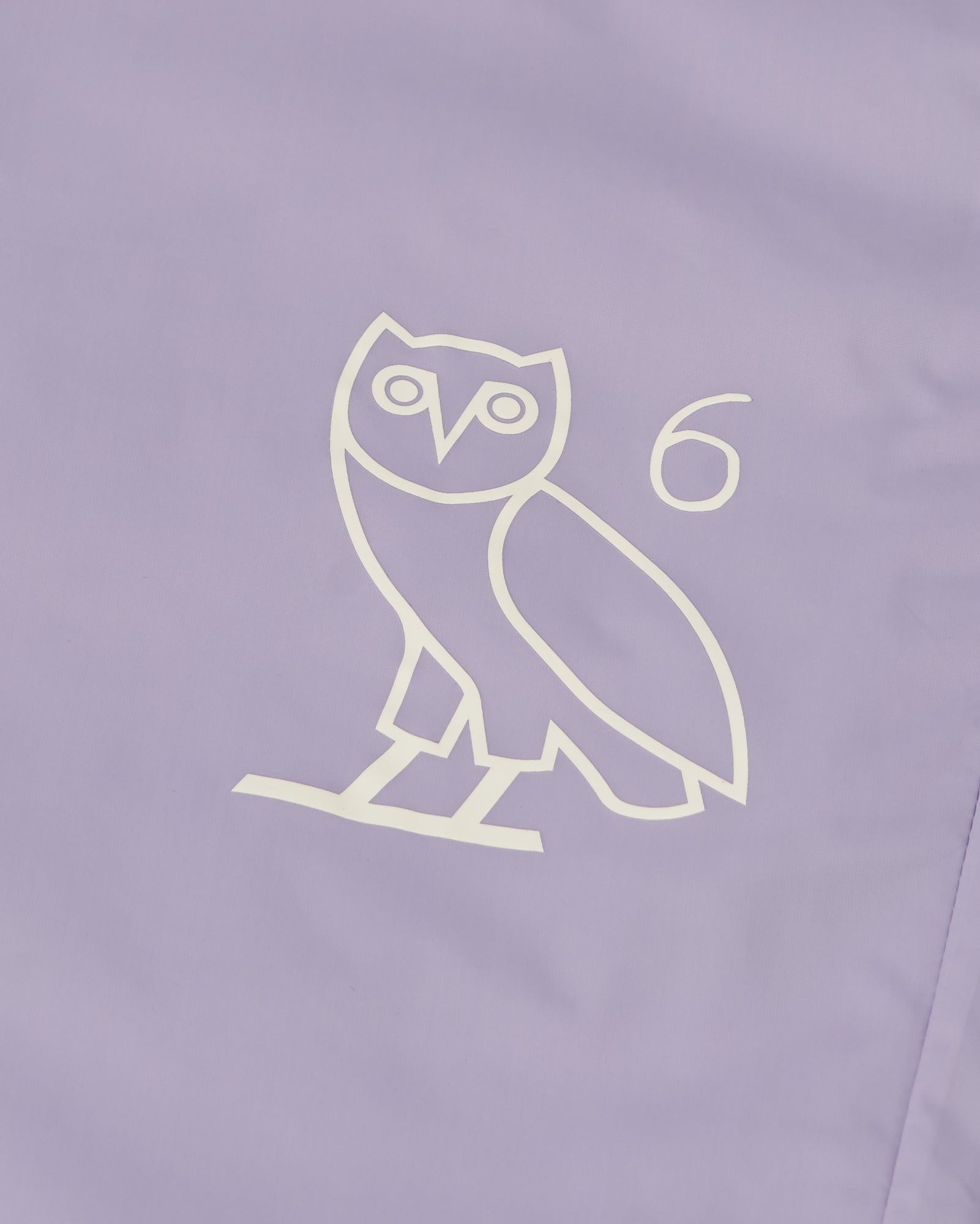 6 OWL PACKABLE TRACK PANT - PALE PURPLE IMAGE #2