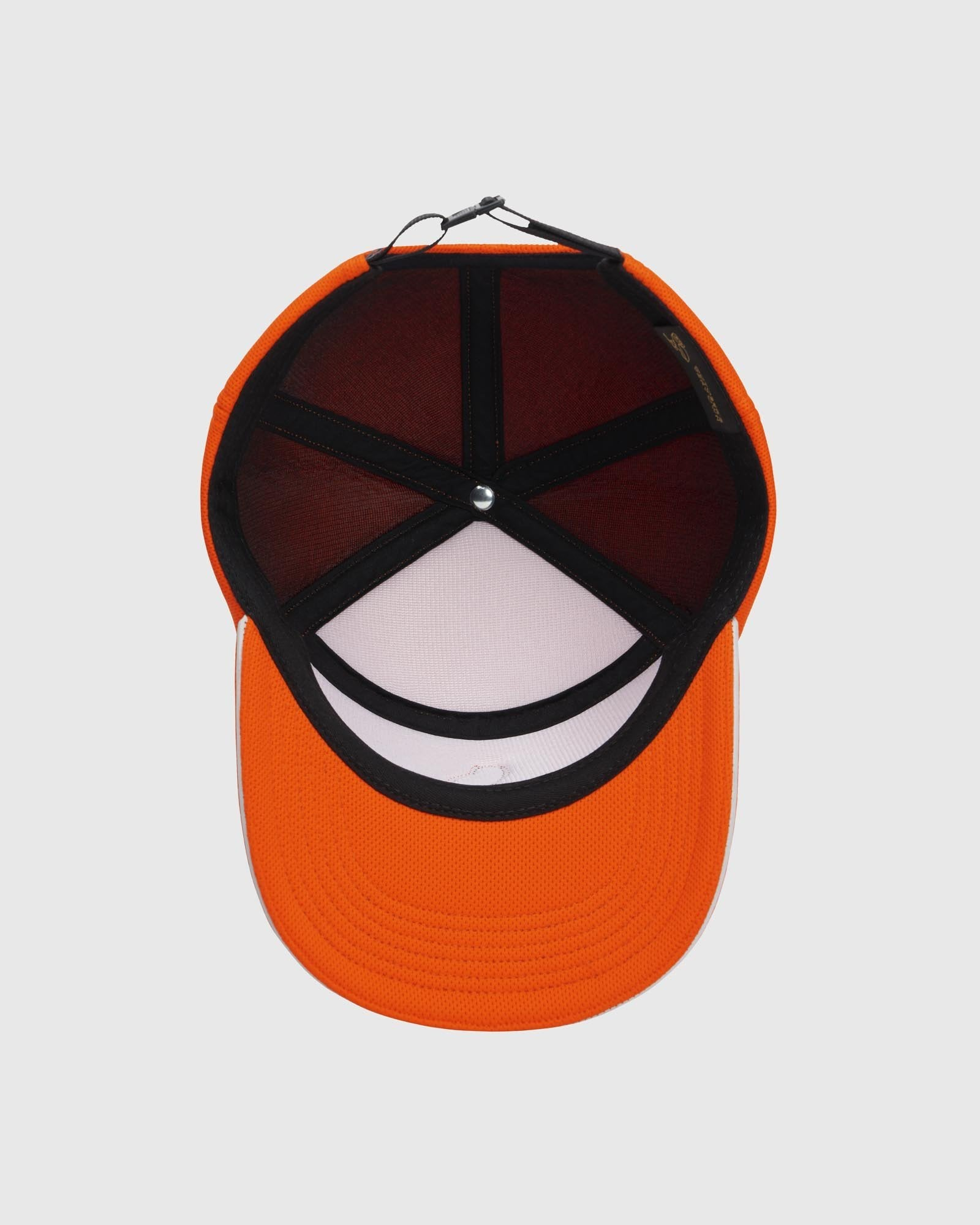 BIRDSEYE 6-PANEL CAP - ORANGE IMAGE #5