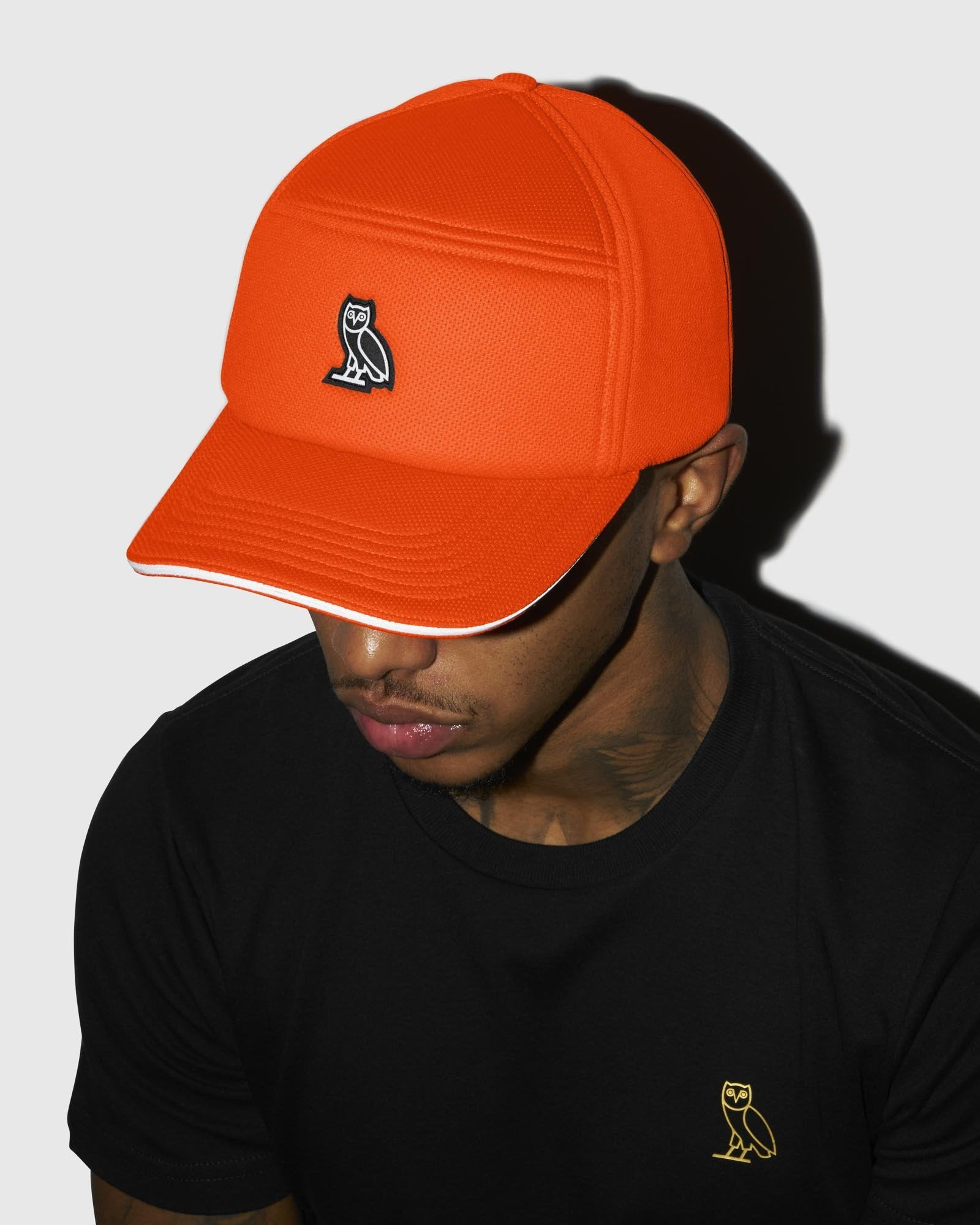 BIRDSEYE 6-PANEL CAP - ORANGE IMAGE #2