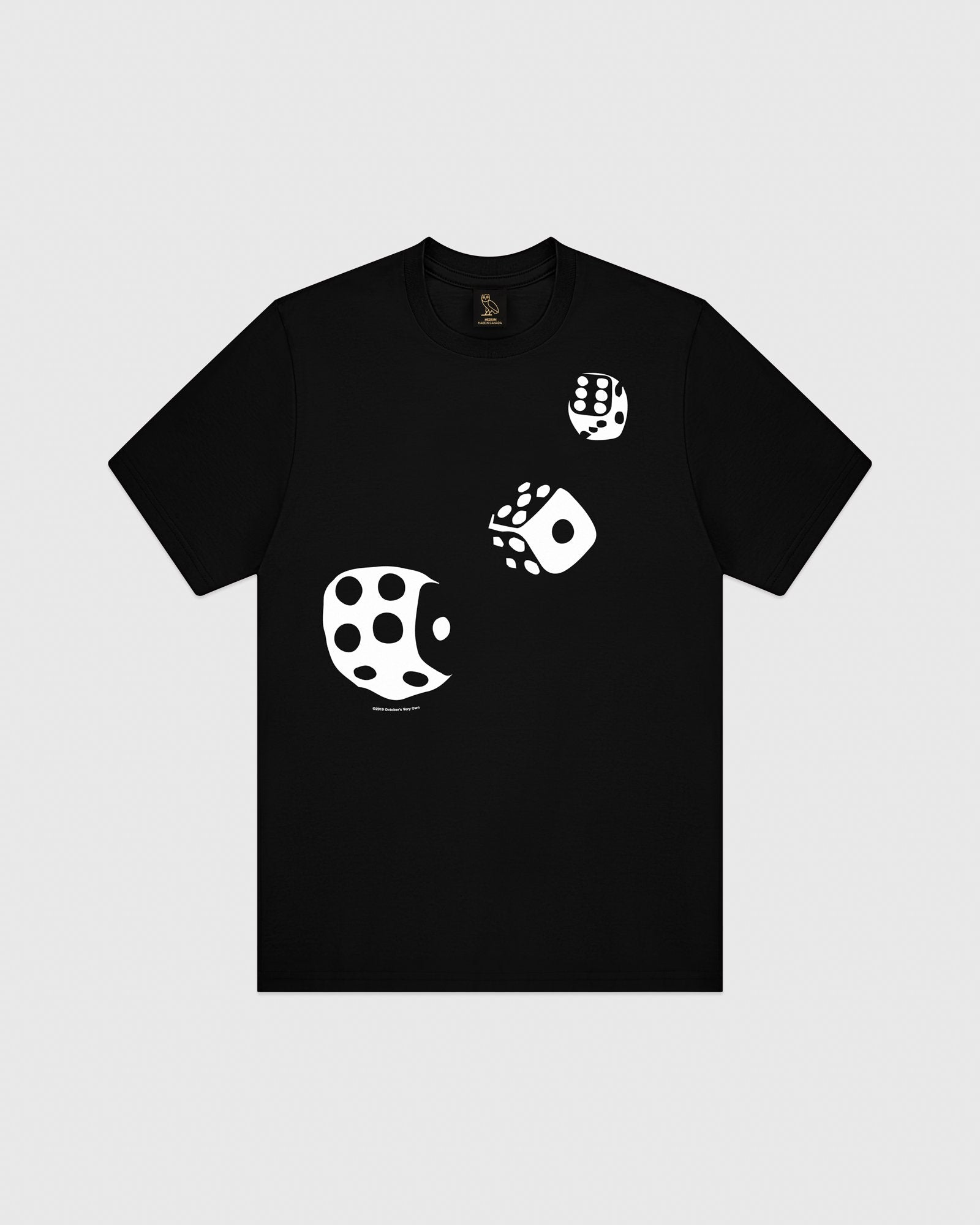 416 DICE T-SHIRT - BLACK IMAGE #1