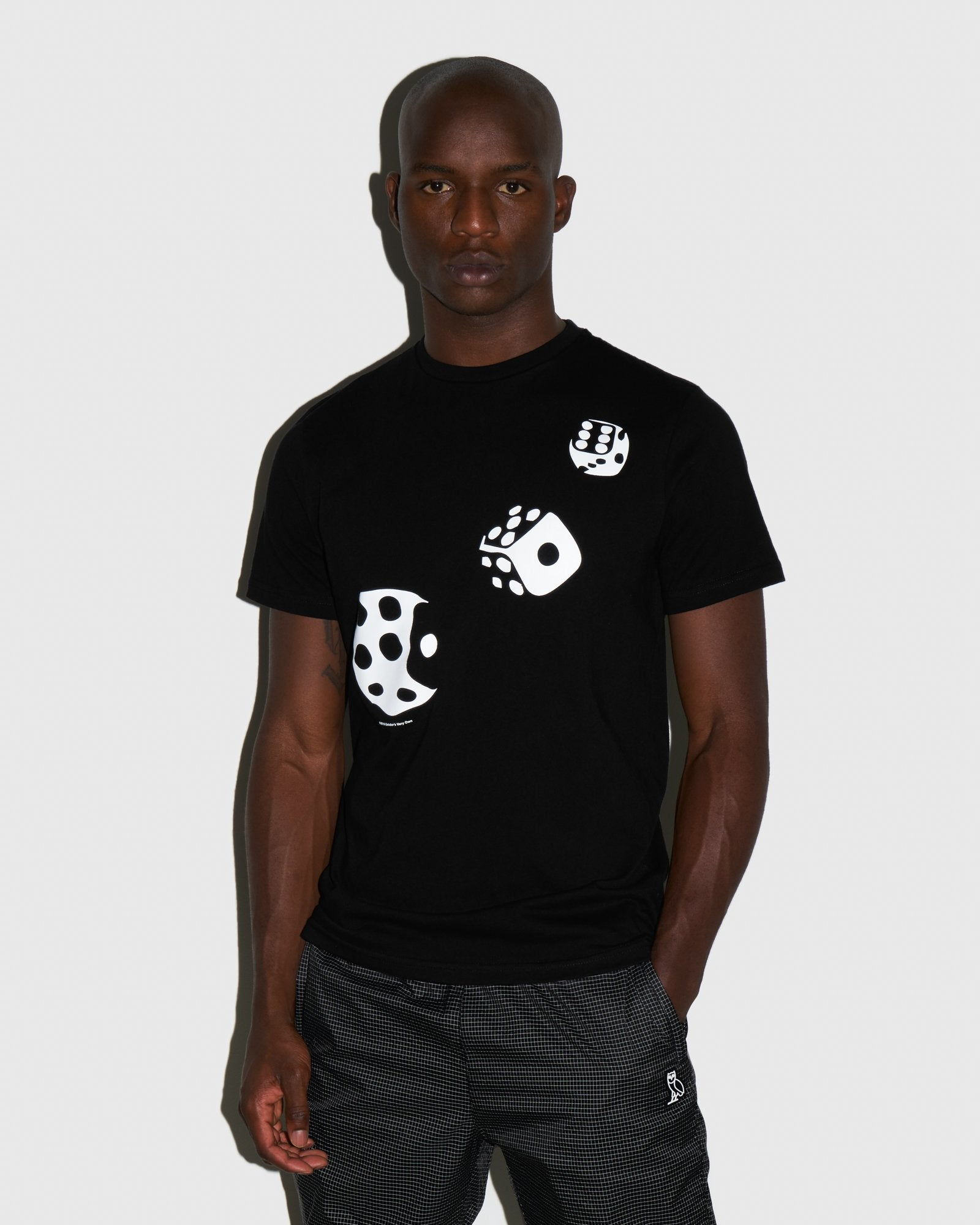 416 DICE T-SHIRT - BLACK IMAGE #2