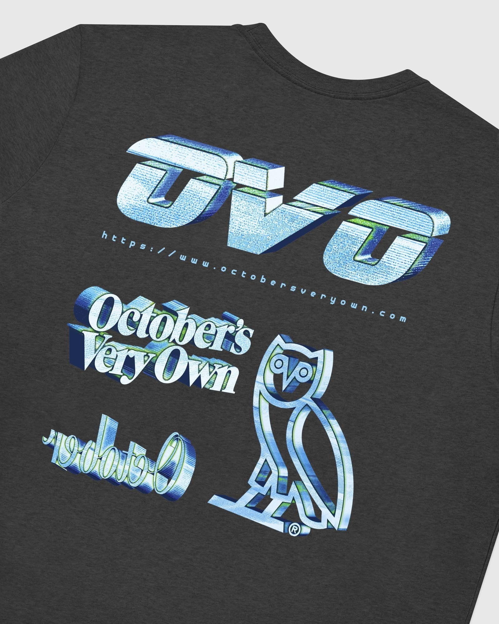 CYBER T-SHIRT - CHARCOAL HEATHER IMAGE #6