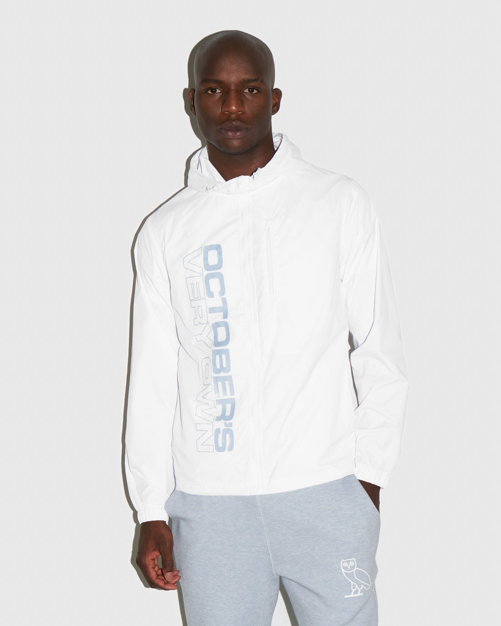 RACER PACKABLE JACKET - WHITE IMAGE #2