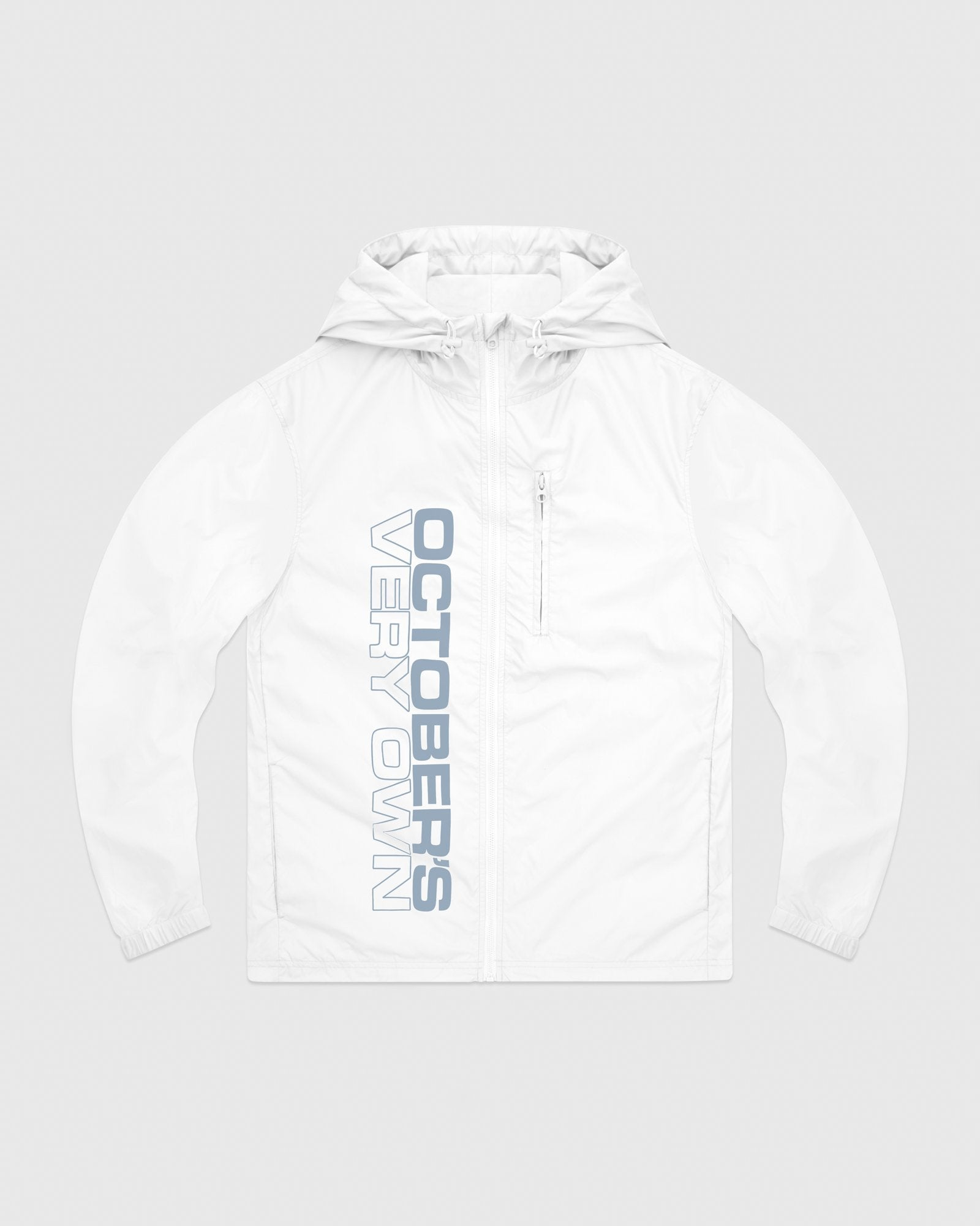 RACER PACKABLE JACKET - WHITE IMAGE #1