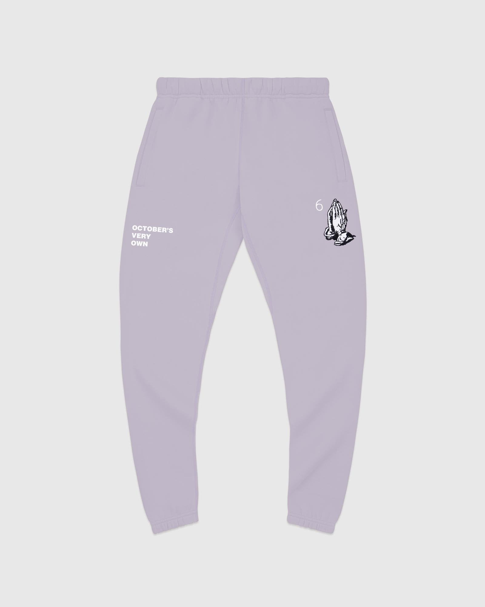 6 GOD SWEATPANT - PURPLE LIGHT IMAGE #1
