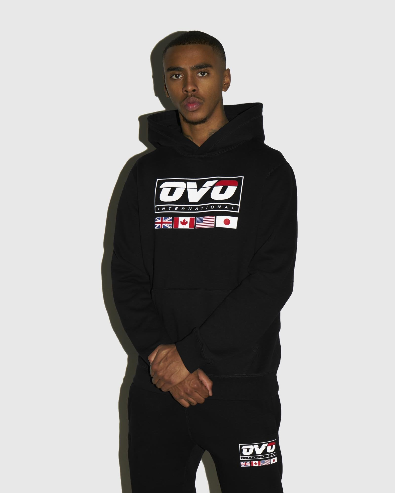 INTERNATIONAL HOODIE - BLACK IMAGE #2