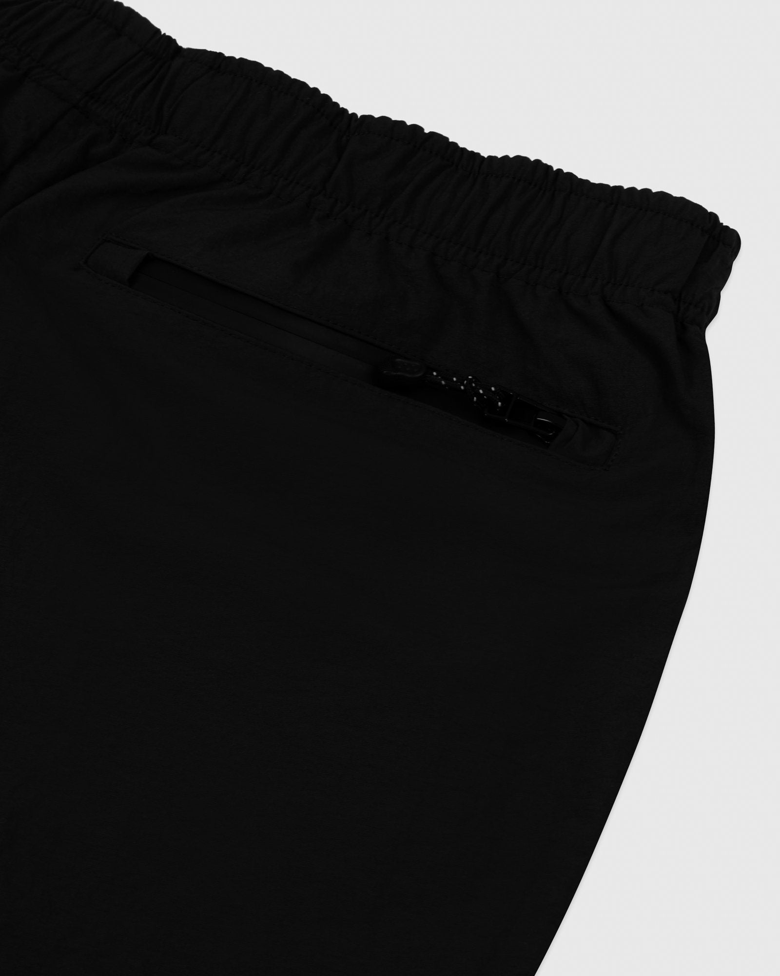 TASLAN ZIP POCKET PANT - BLACK IMAGE #4