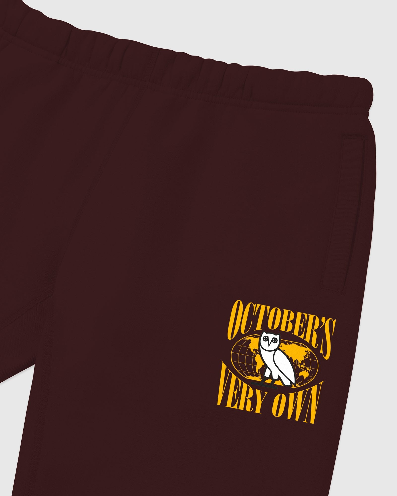 WORLD TOUR SWEATPANT - BURGUNDY IMAGE #4