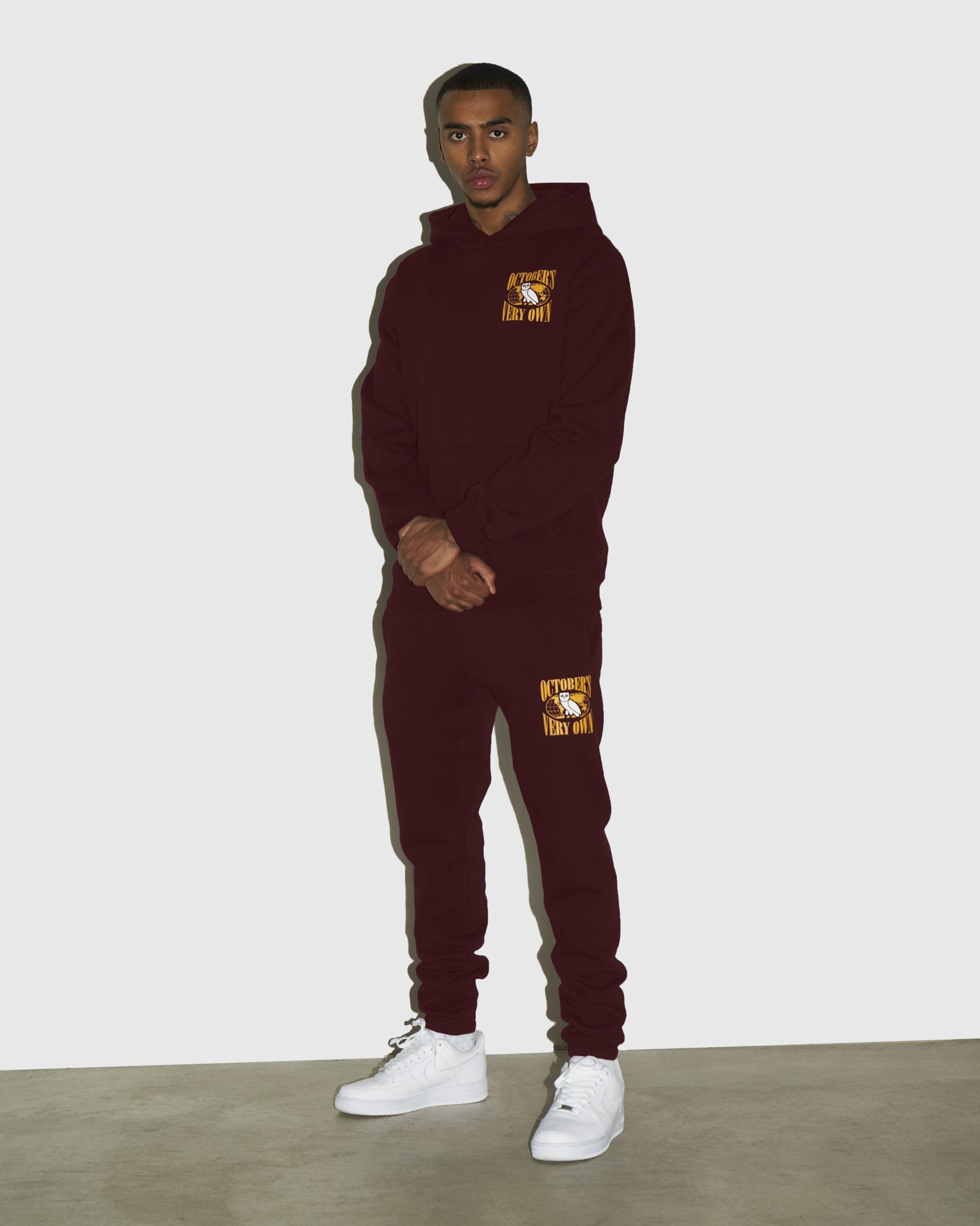 WORLD TOUR SWEATPANT - BURGUNDY IMAGE #3