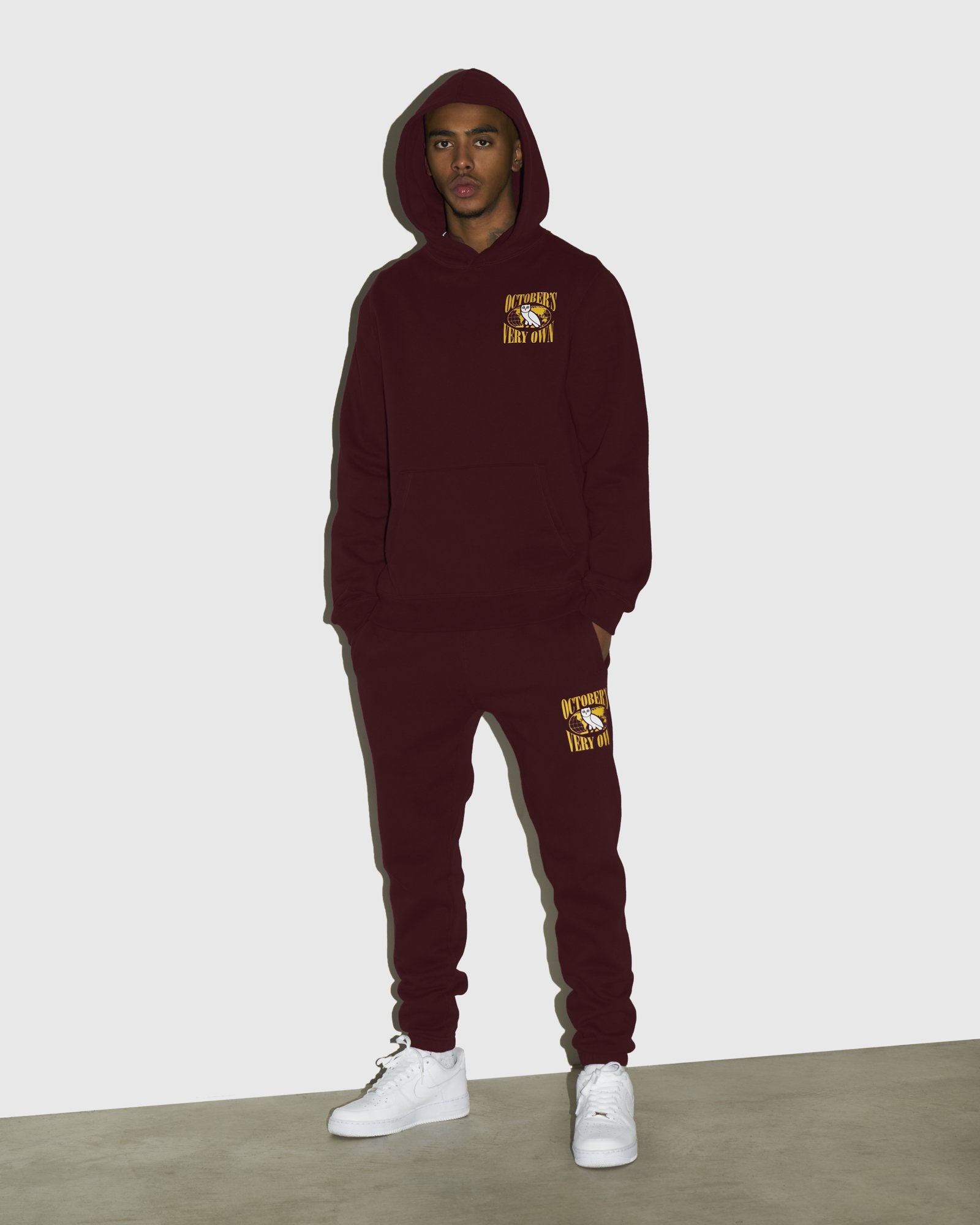 WORLD TOUR SWEATPANT - BURGUNDY IMAGE #2