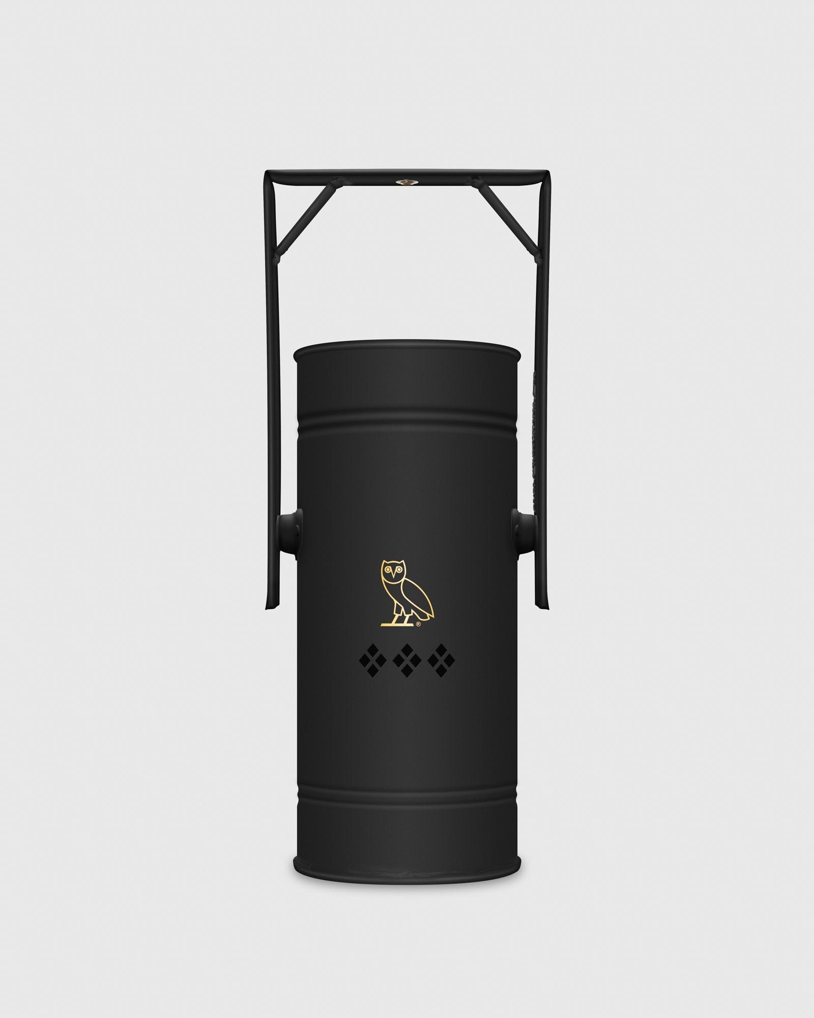 OVO x KUUMBA METAL CAN INCENSE BURNER - BLACK IMAGE #1