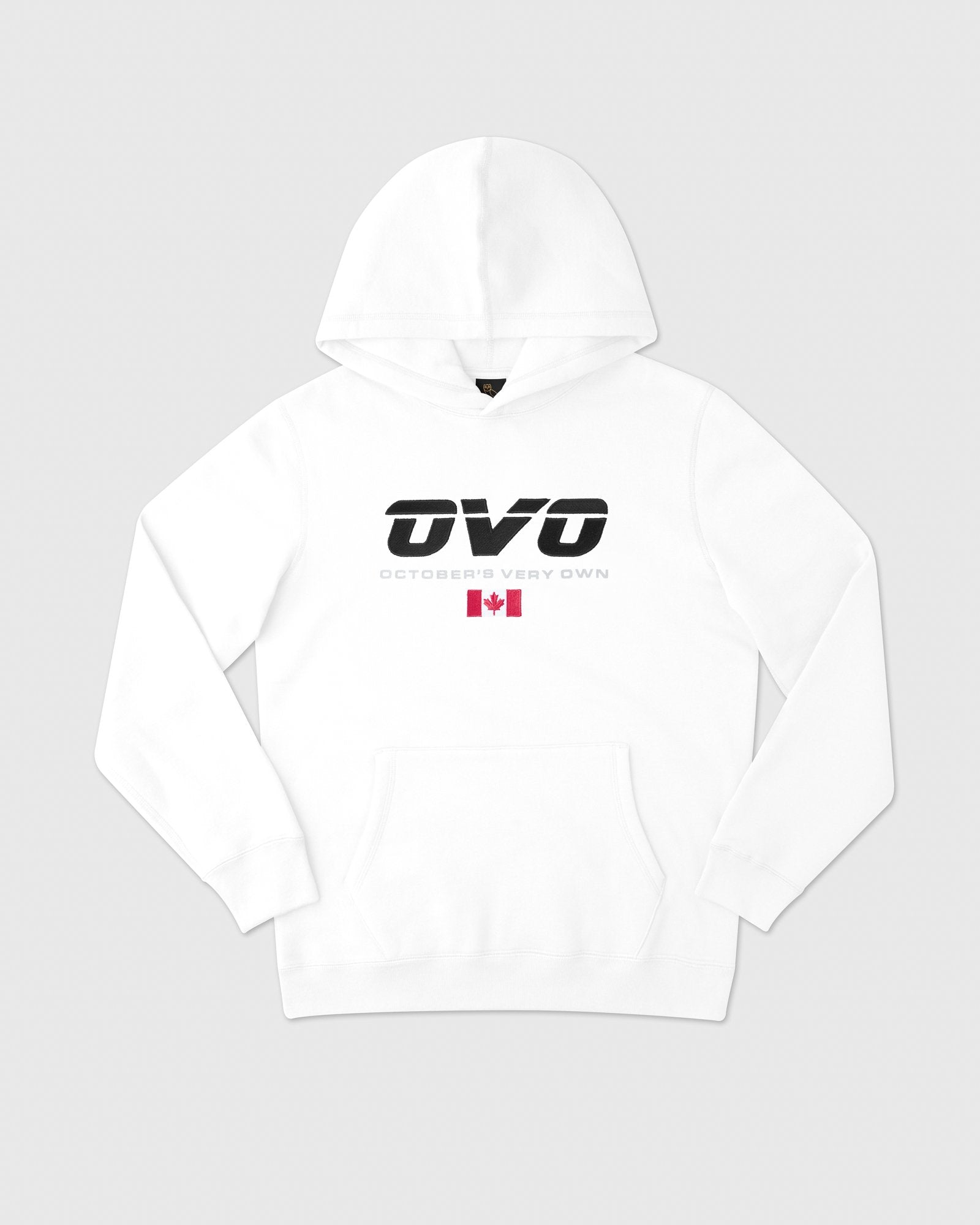 CANADA SPORT HOODIE - WHITE IMAGE #1