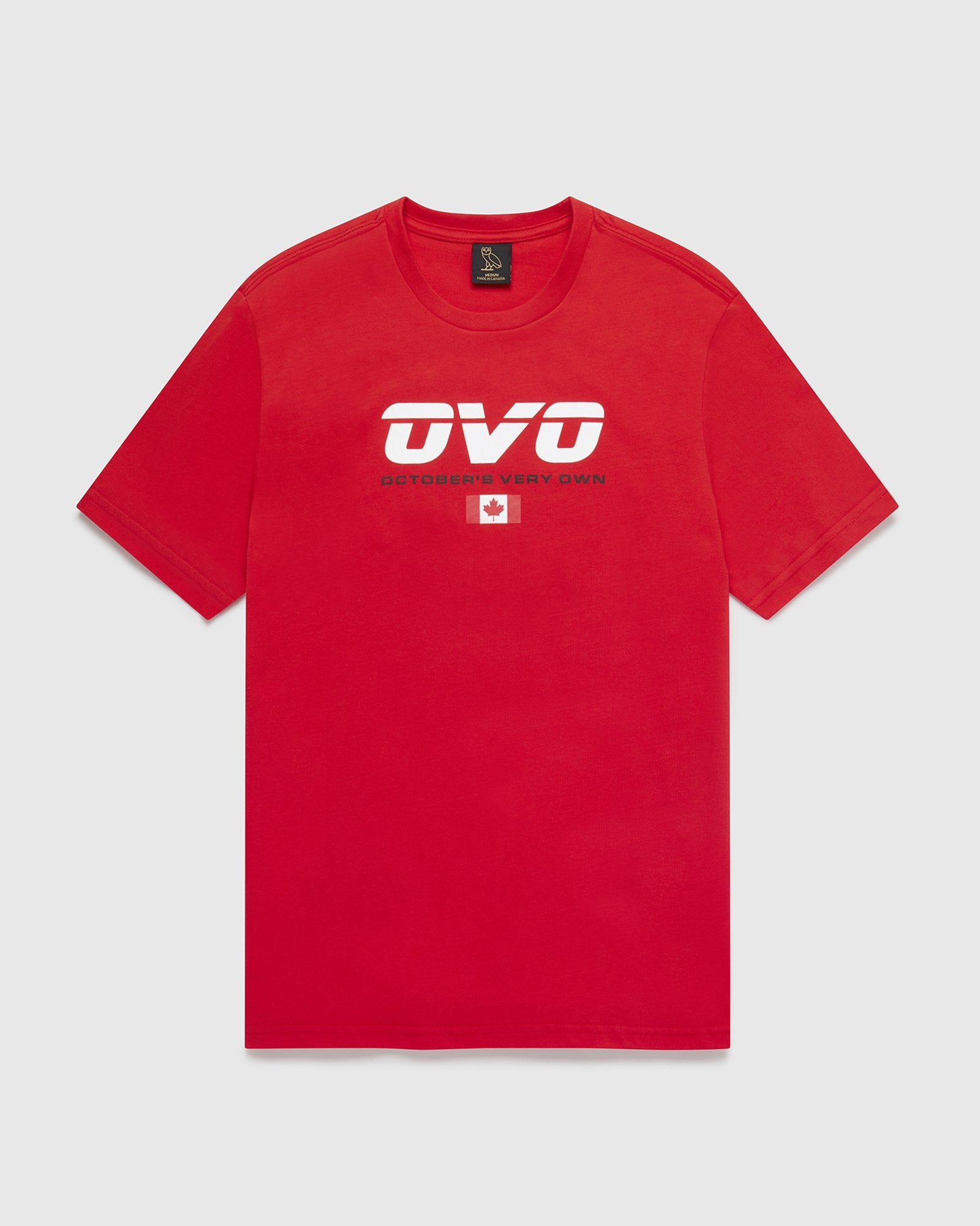 CANADA SPORT T-SHIRT - RED IMAGE #1
