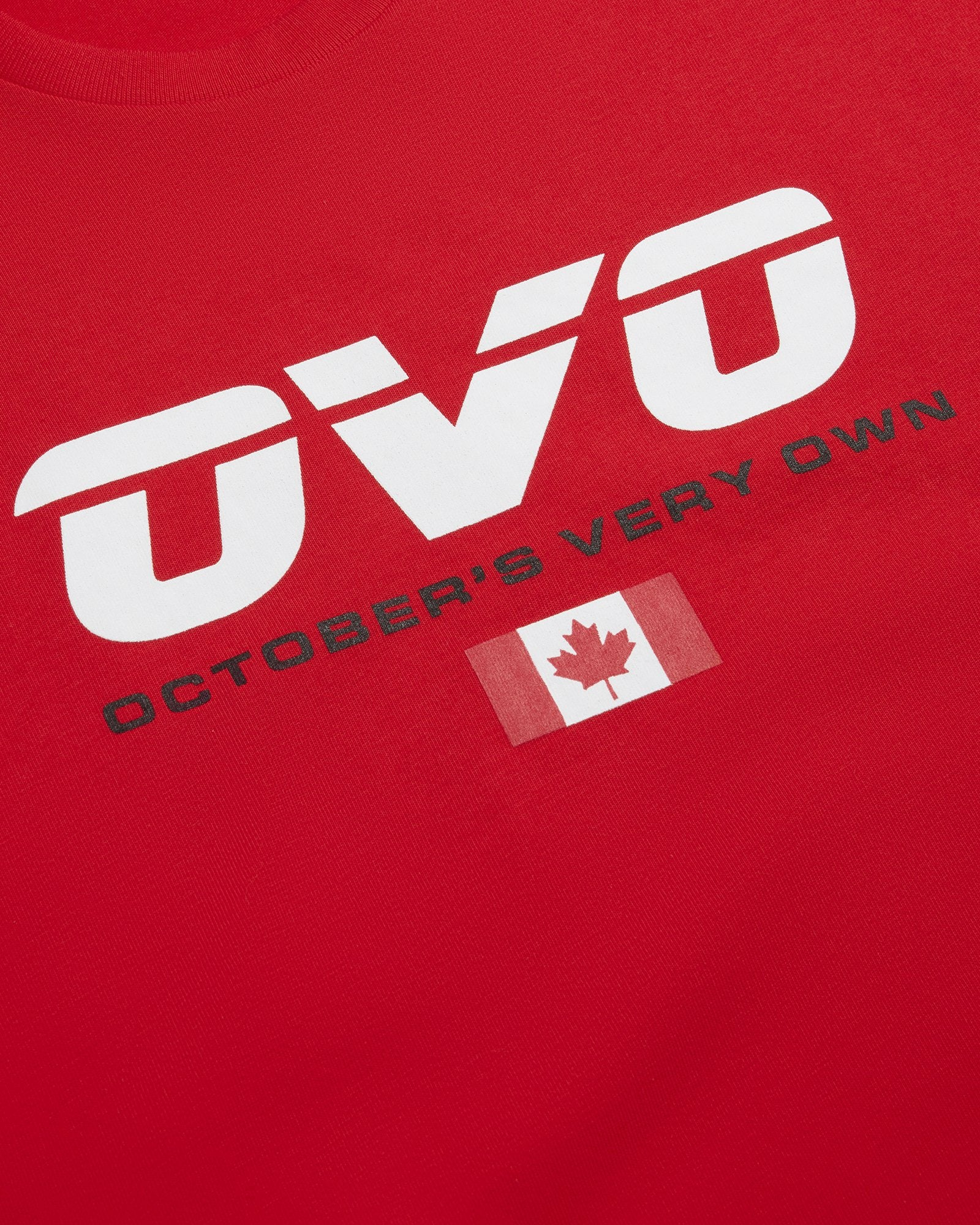 CANADA SPORT T-SHIRT - RED IMAGE #3