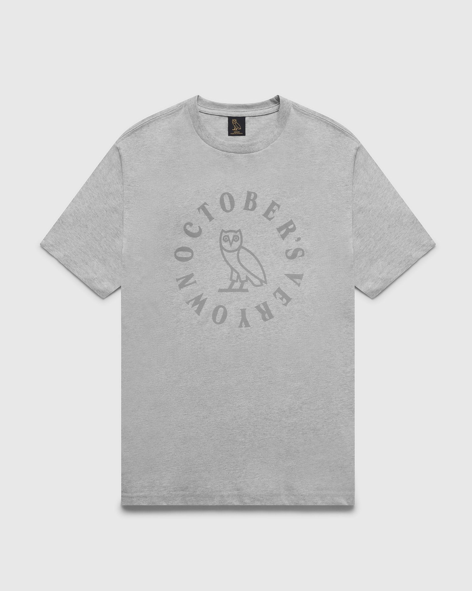 CIRCLE T-SHIRT - HEATHER GREY IMAGE #1