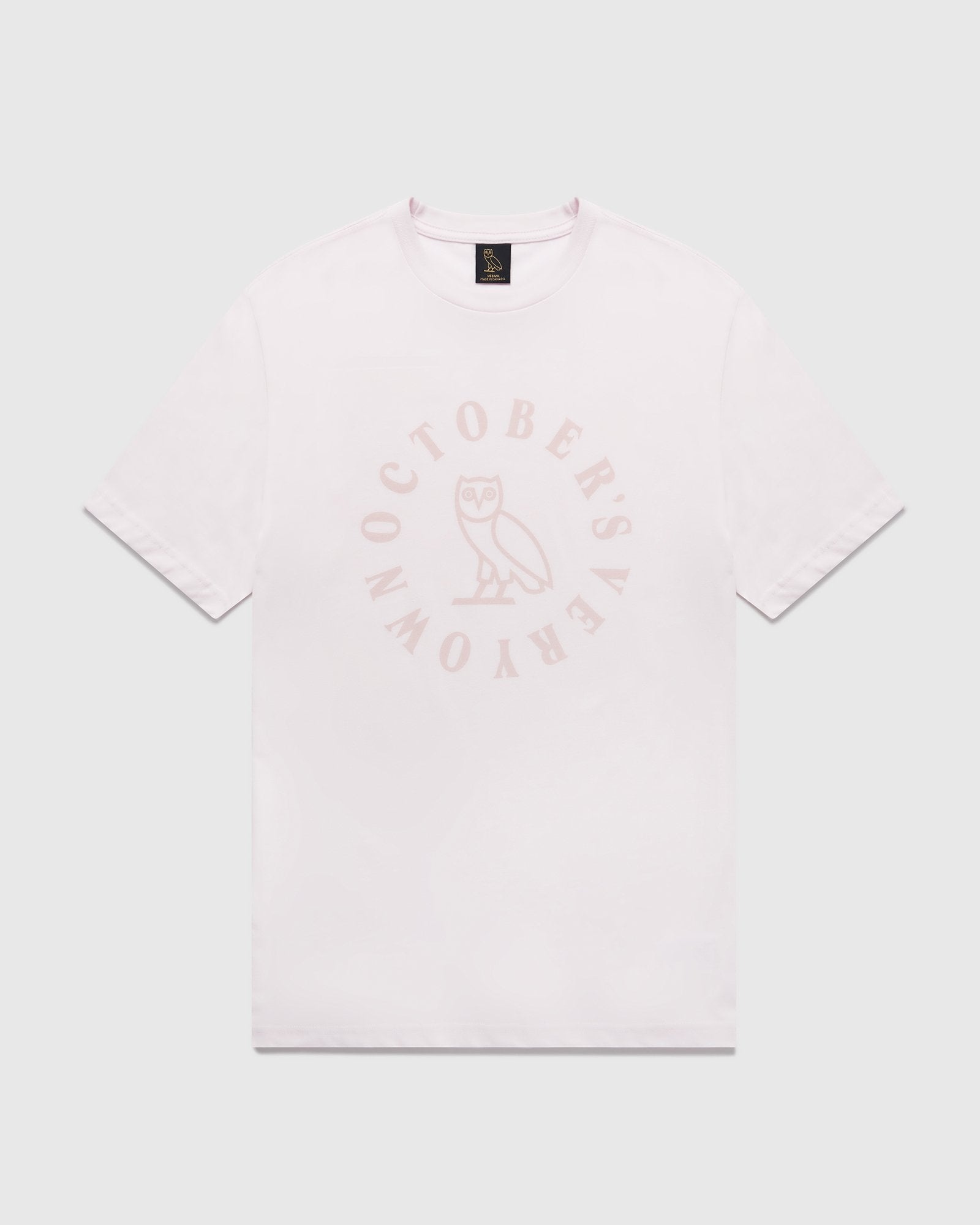 CIRCLE T-SHIRT - PALE PINK IMAGE #1