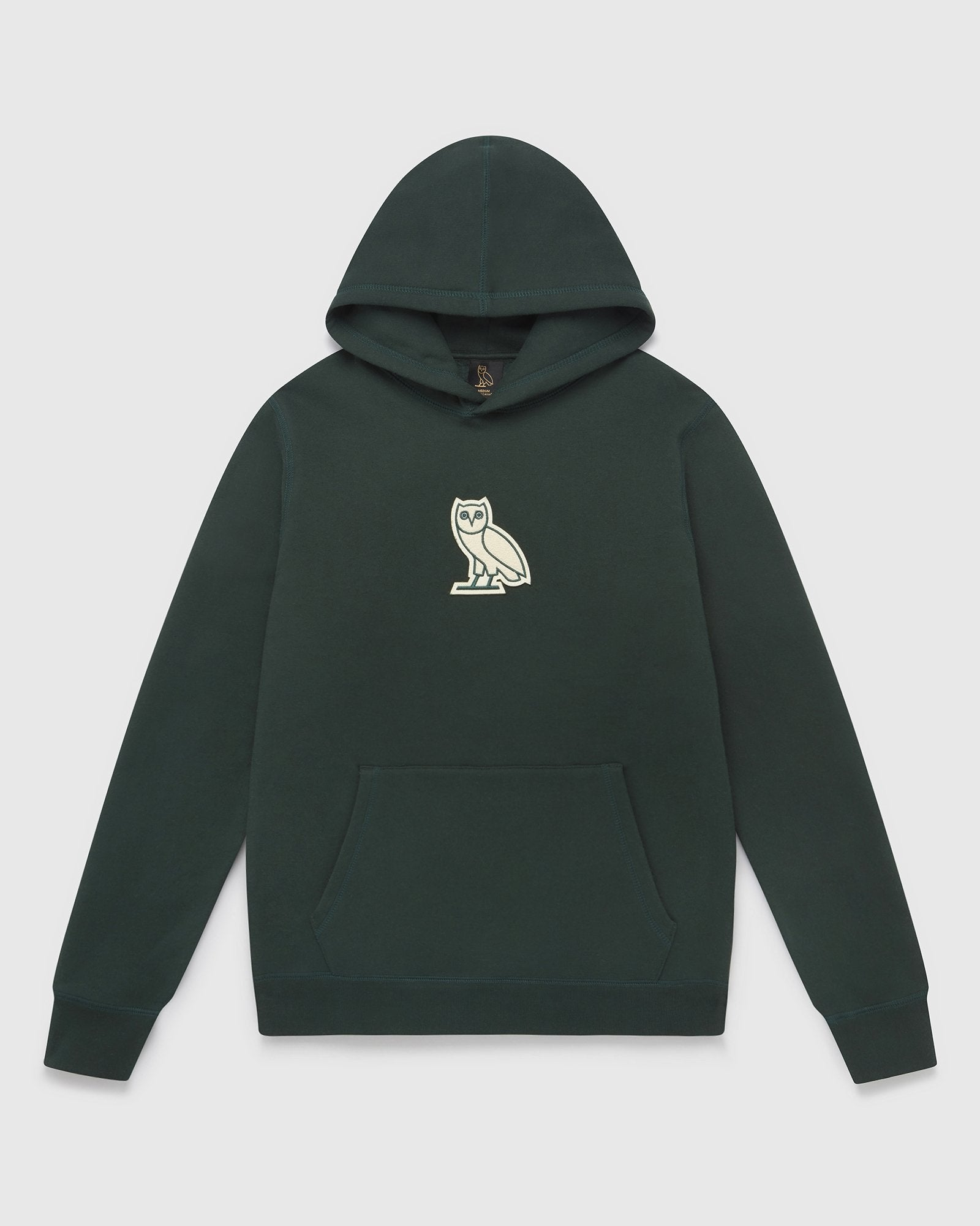 CLASSIC OWL HOODIE - EVERGREEN IMAGE #1