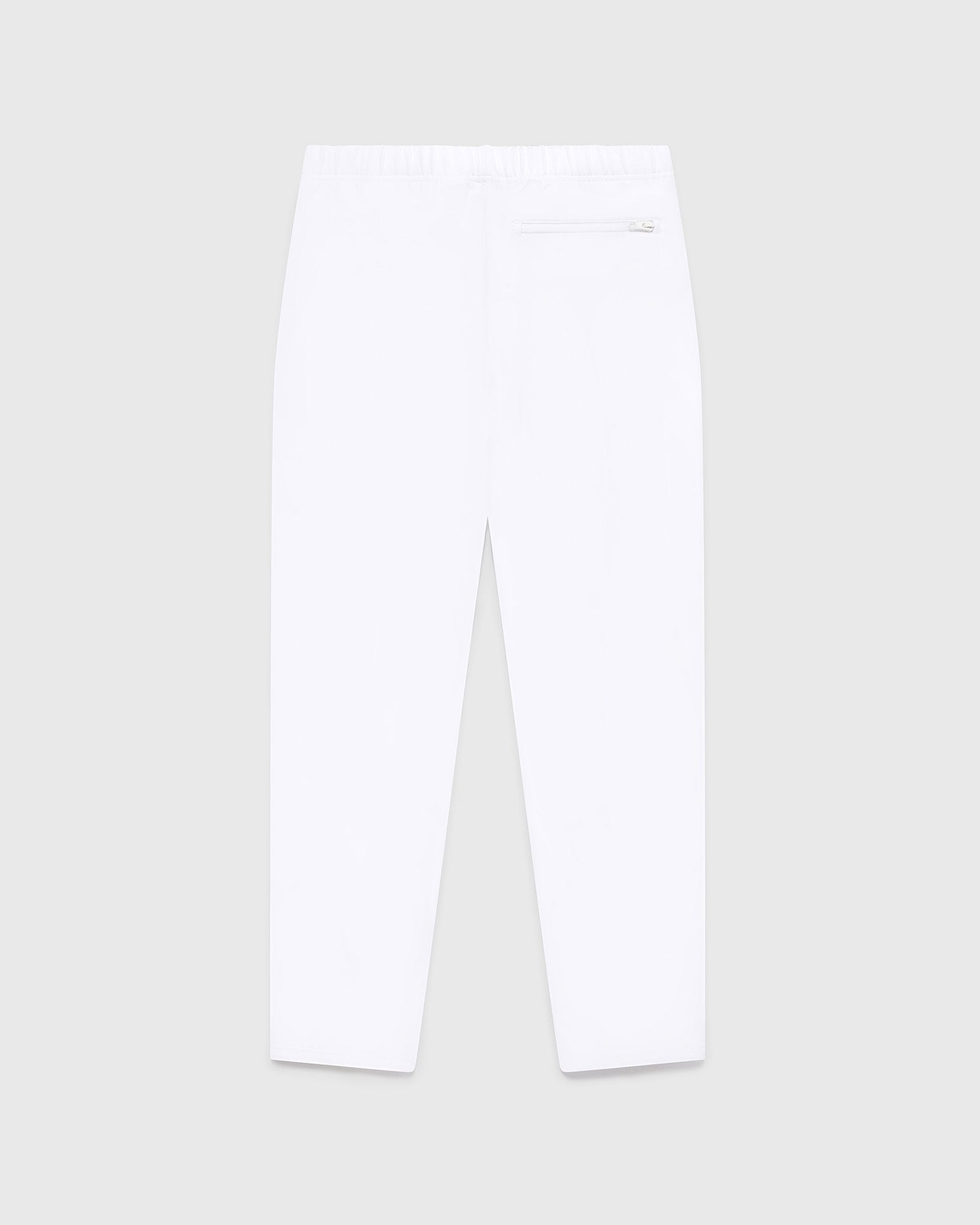 DOUBLE KNIT TRACK PANT - WHITE IMAGE #2
