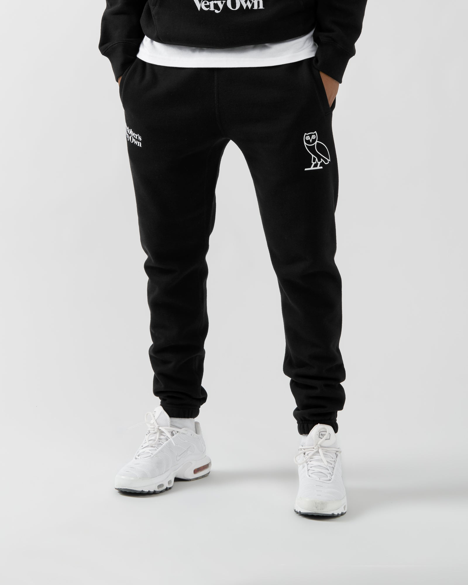 FAMILIA EMBROIDERED SWEATPANT - BLACK IMAGE #3