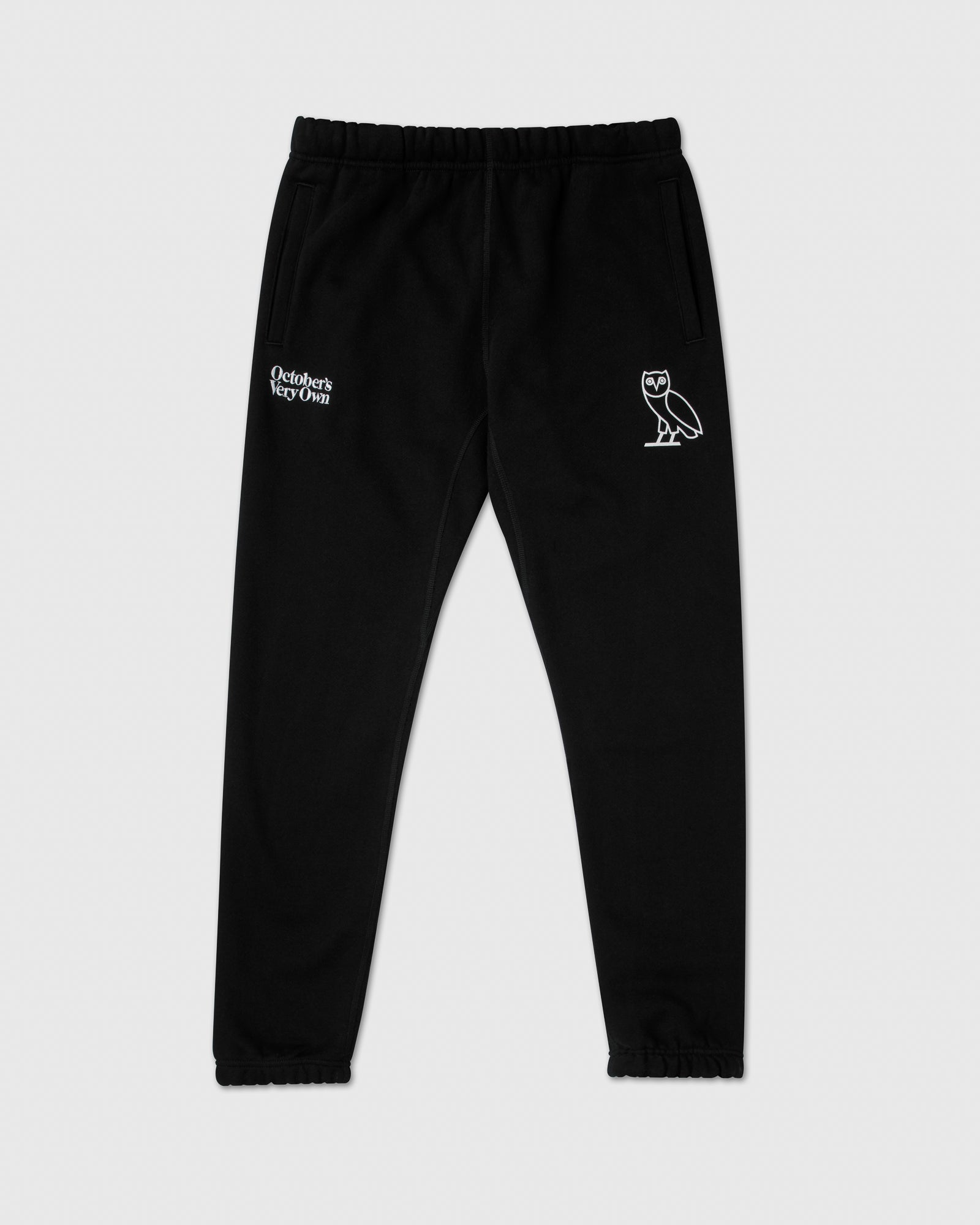 FAMILIA EMBROIDERED SWEATPANT - BLACK IMAGE #1