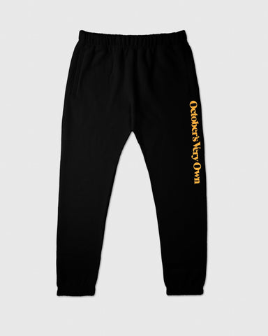FAMILIA WORDMARK SWEATPANT - BLACK