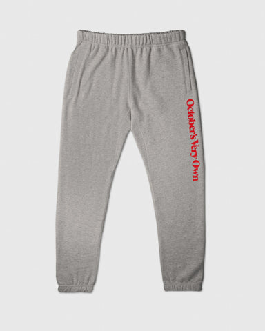 FAMILIA WORDMARK SWEATPANT - HEATHER GREY