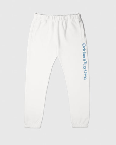 FAMILIA WORDMARK SWEATPANT - WHITE