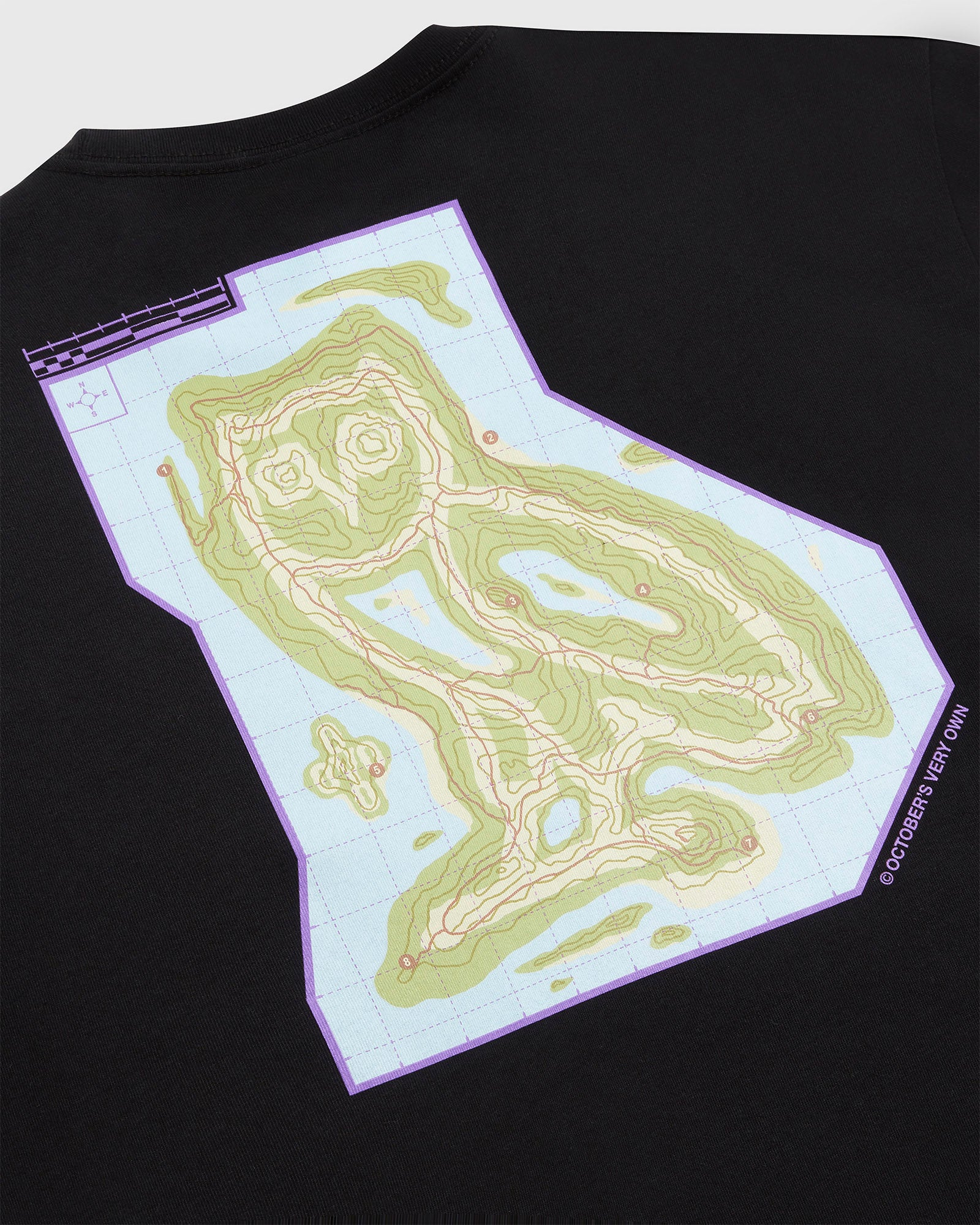 OWL'S TRAIL T-SHIRT - BLACK IMAGE #3