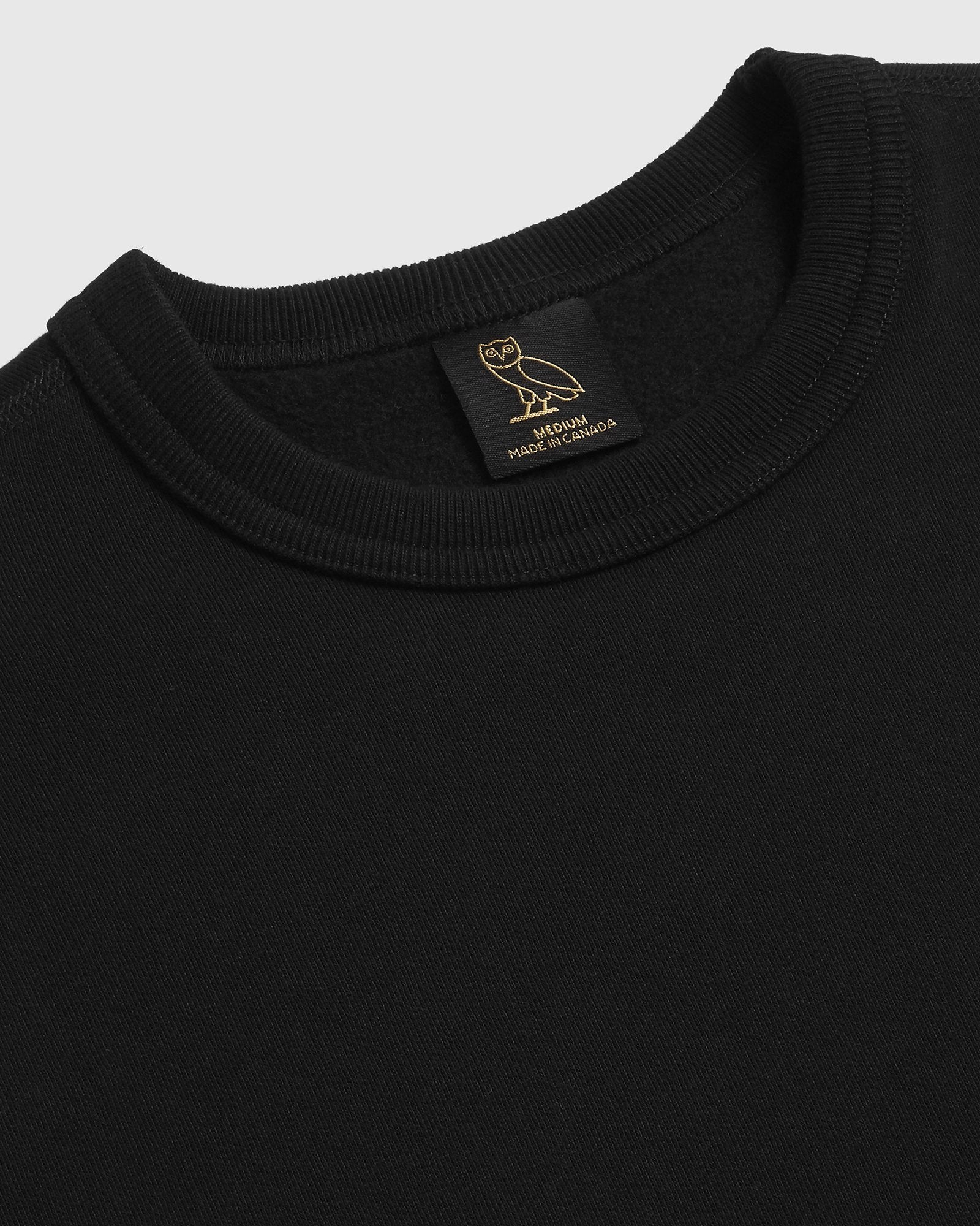 OVO HOT SKULLS™ CREWNECK - BLACK IMAGE #2