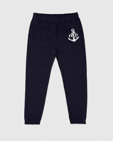 NAUTICAL INDIGO FLEECE SWEATPANT - INDIGO