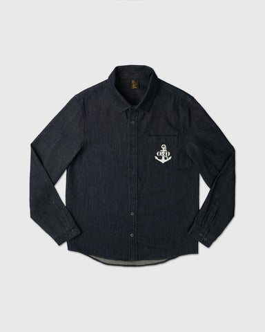 NAUTICAL DENIM SHIRT - INDIGO