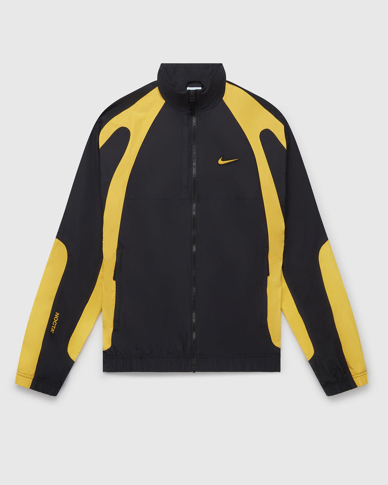 NOCTA X NIKE NORTHSTAR NYLON TRACK JACKET - BLACK/UNIVERSITY GOLD