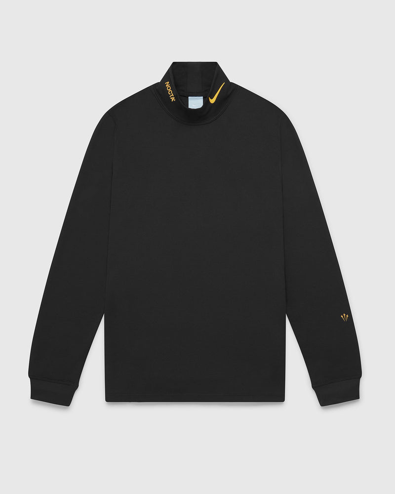 NOCTA X NIKE STANDARD MOCK NECK BASE LAYER - BLACK