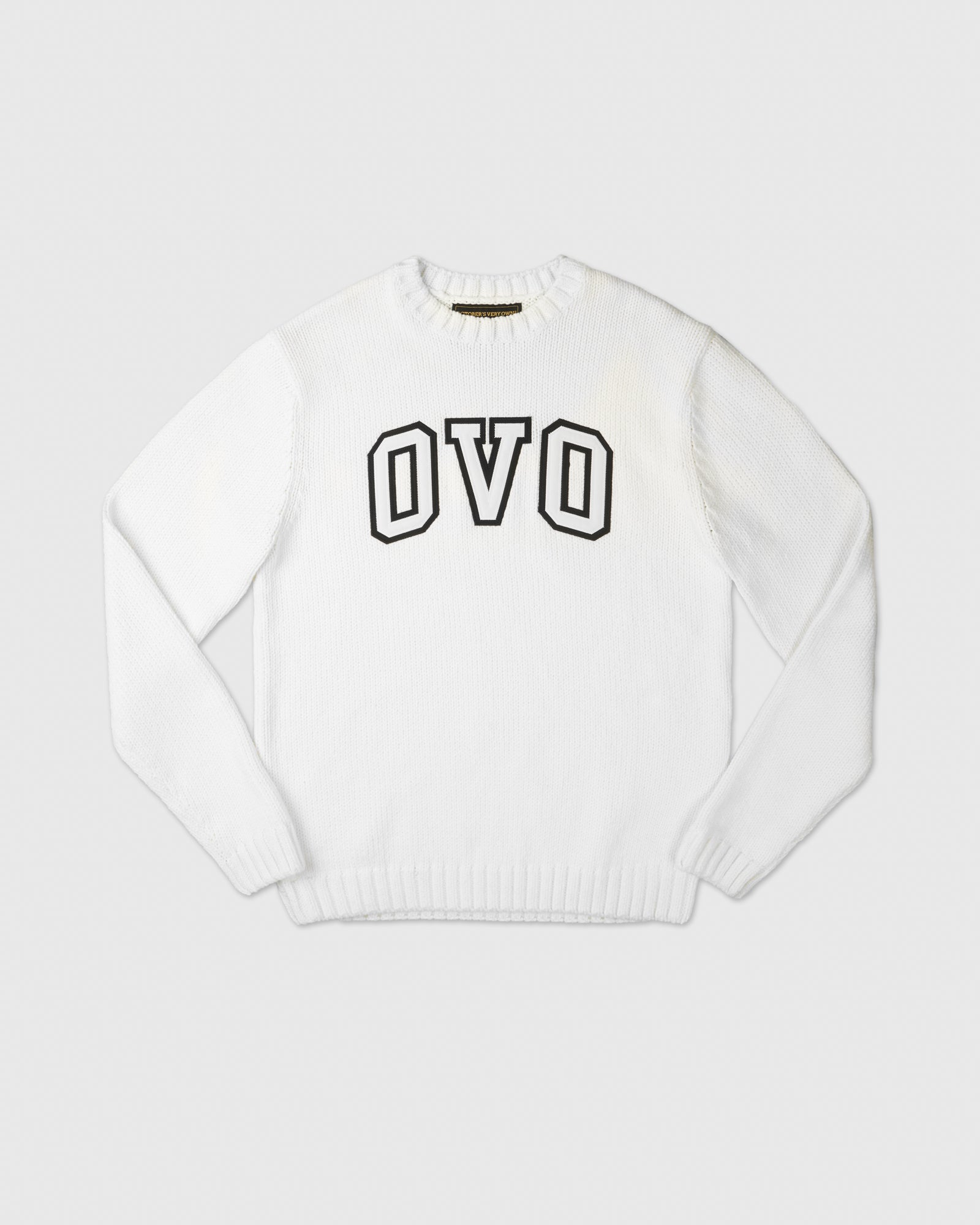 OVO ARCH SWEATER - WHITE IMAGE #1