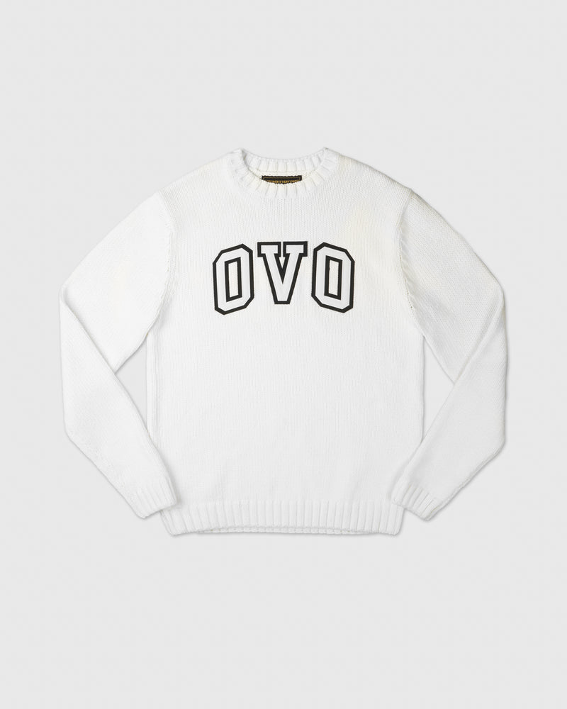 OVO ARCH SWEATER - WHITE