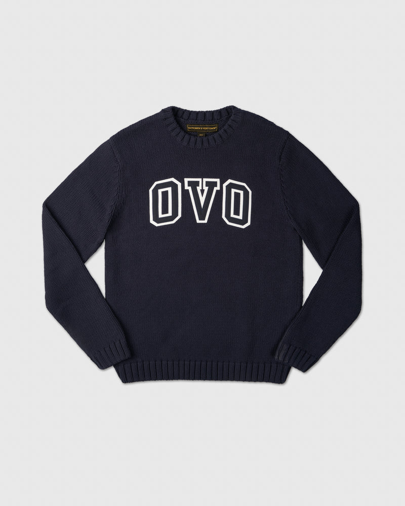 OVO ARCH SWEATER - NAVY