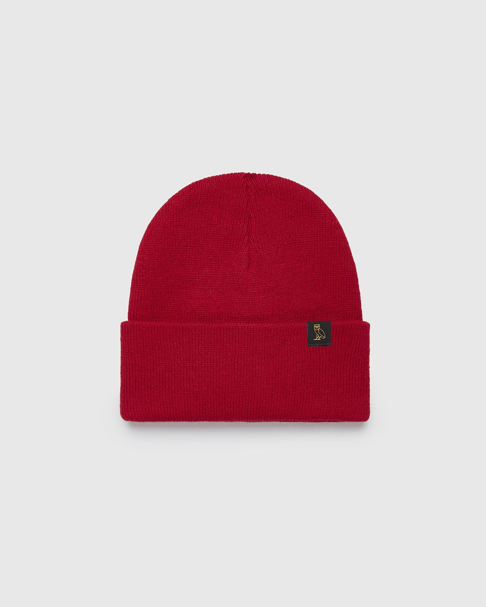 OVO BEANIE - DARK RED IMAGE #1
