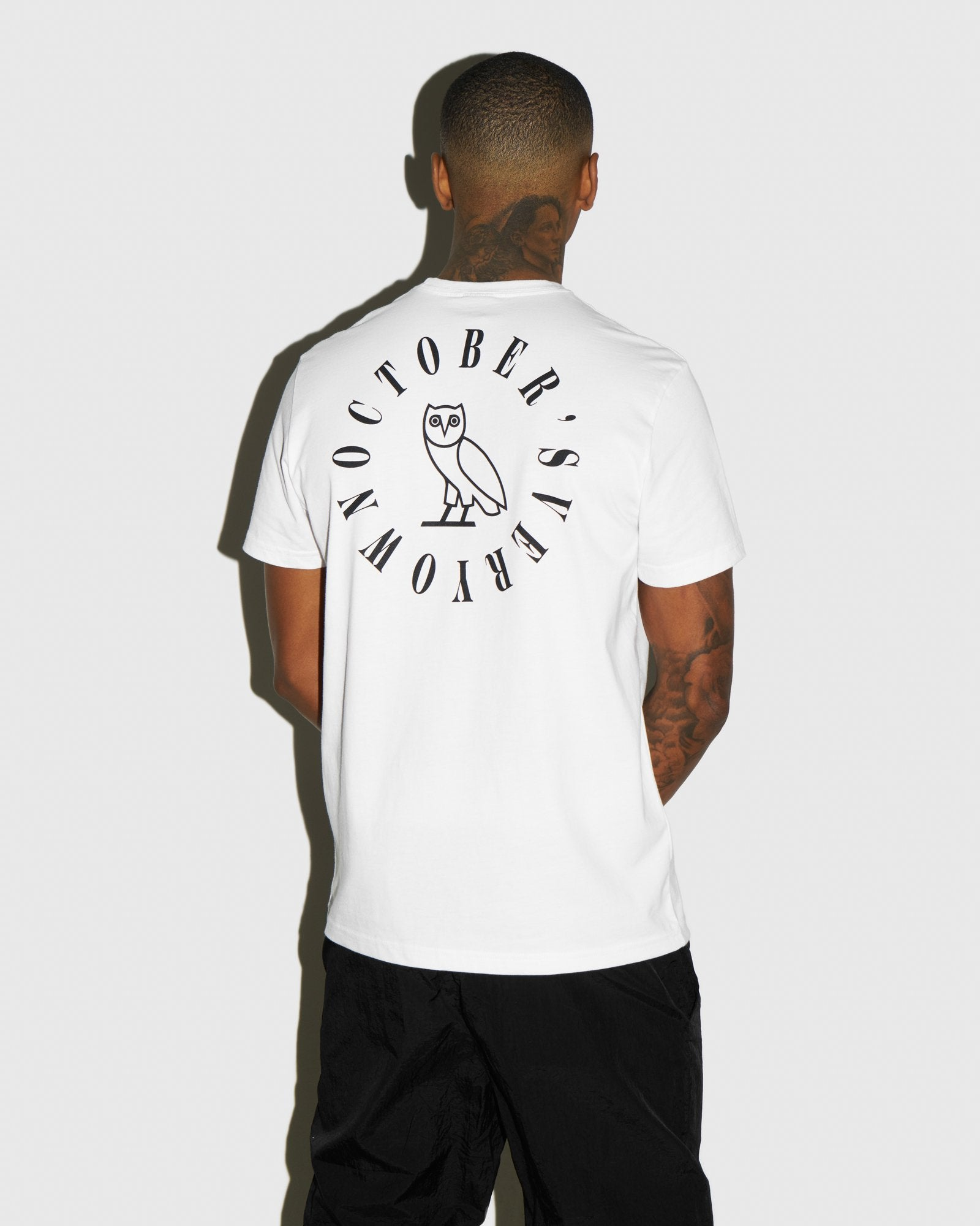 CIRCLE WORDMARK T-SHIRT - WHITE IMAGE #3