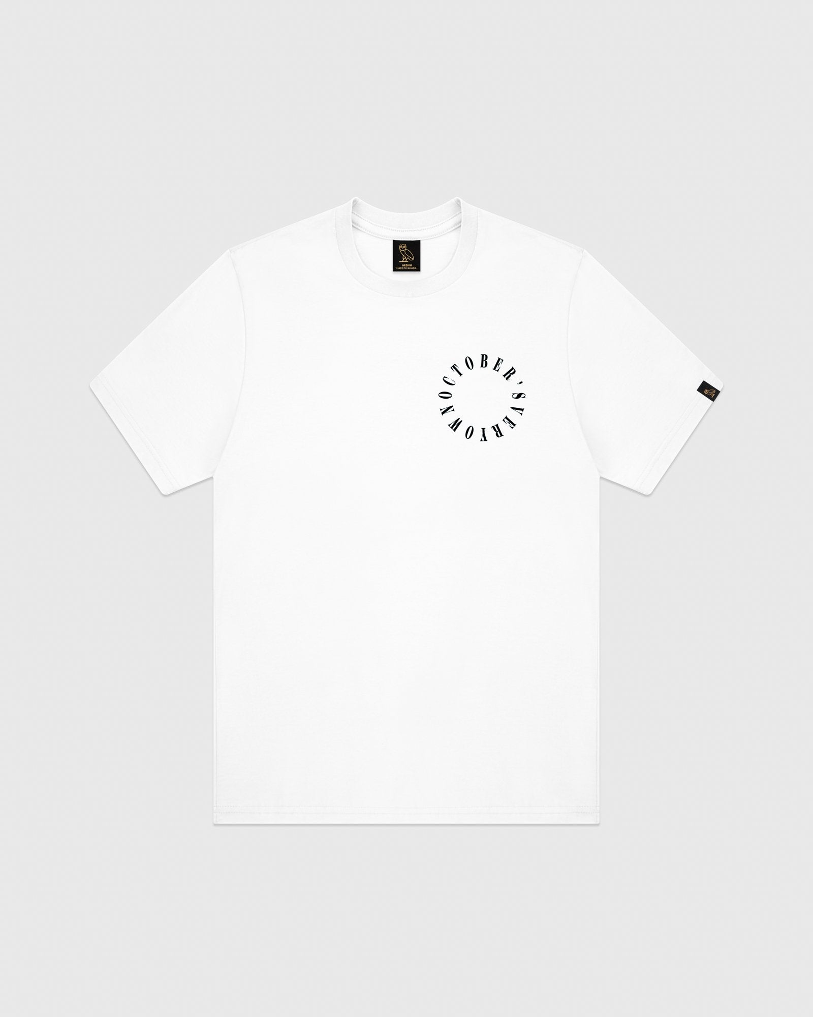 CIRCLE WORDMARK T-SHIRT - WHITE IMAGE #1