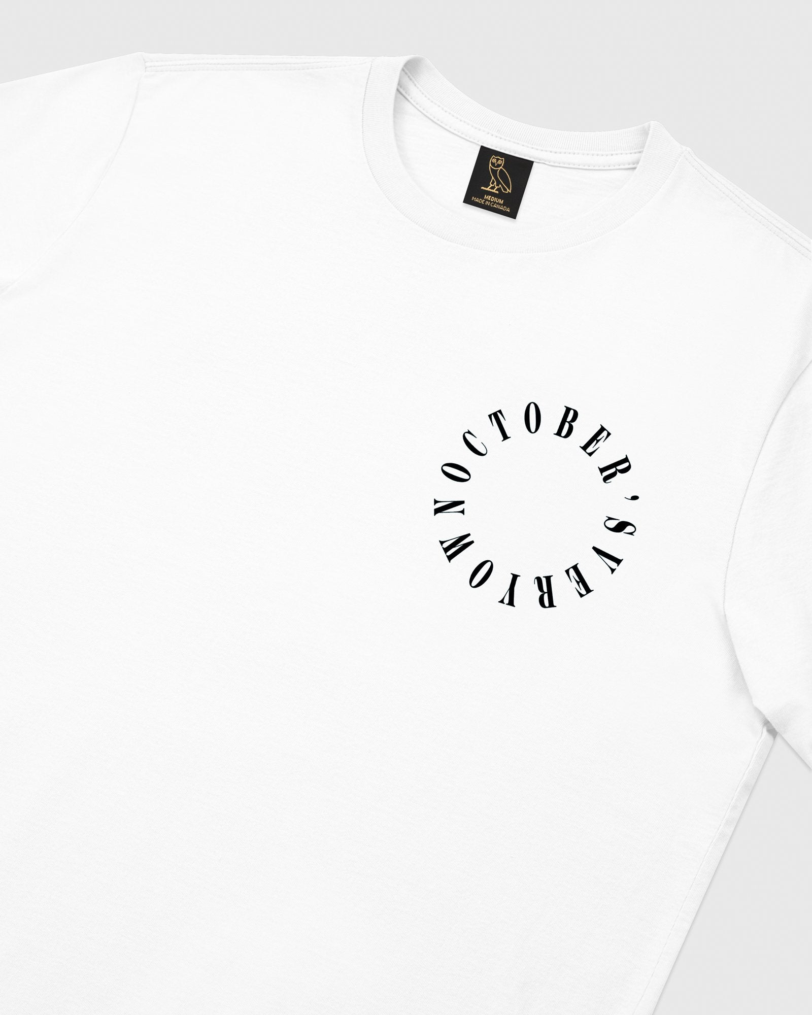 CIRCLE WORDMARK T-SHIRT - WHITE IMAGE #4