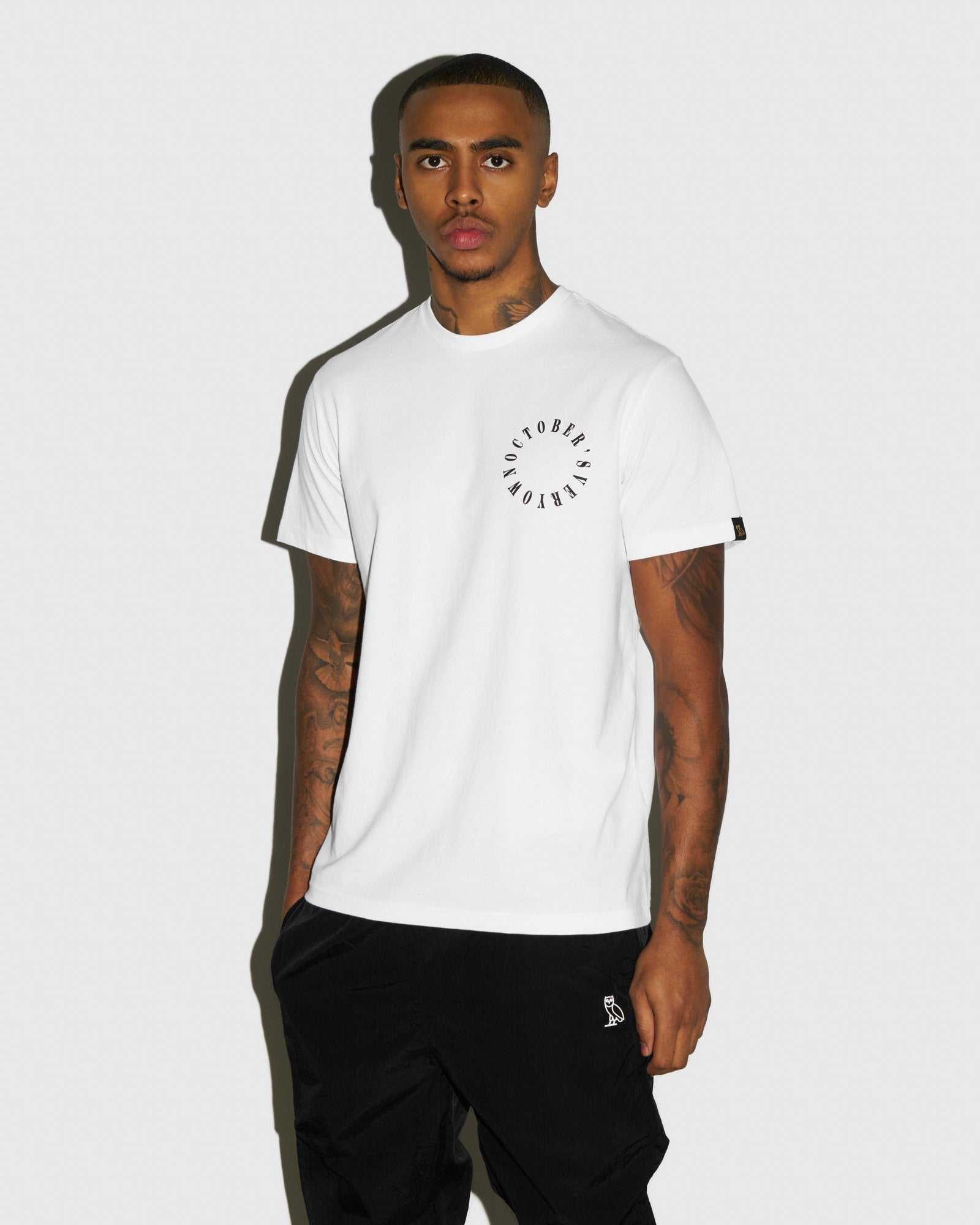 CIRCLE WORDMARK T-SHIRT - WHITE IMAGE #2