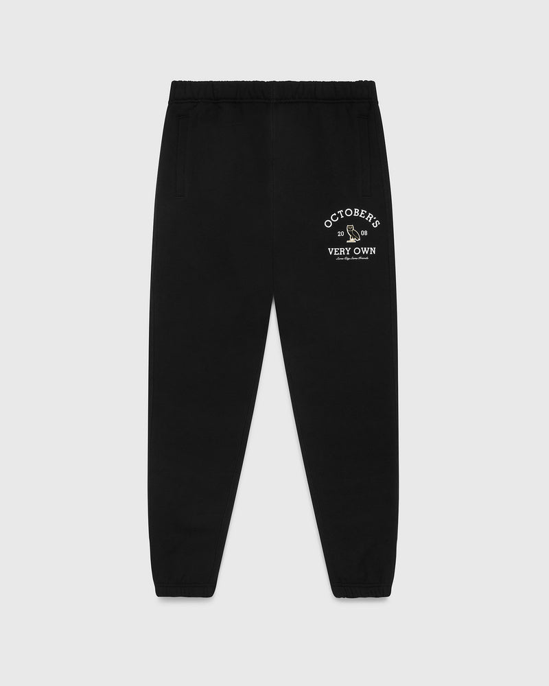 OVO COLLEGIATE SWEATPANT - BLACK