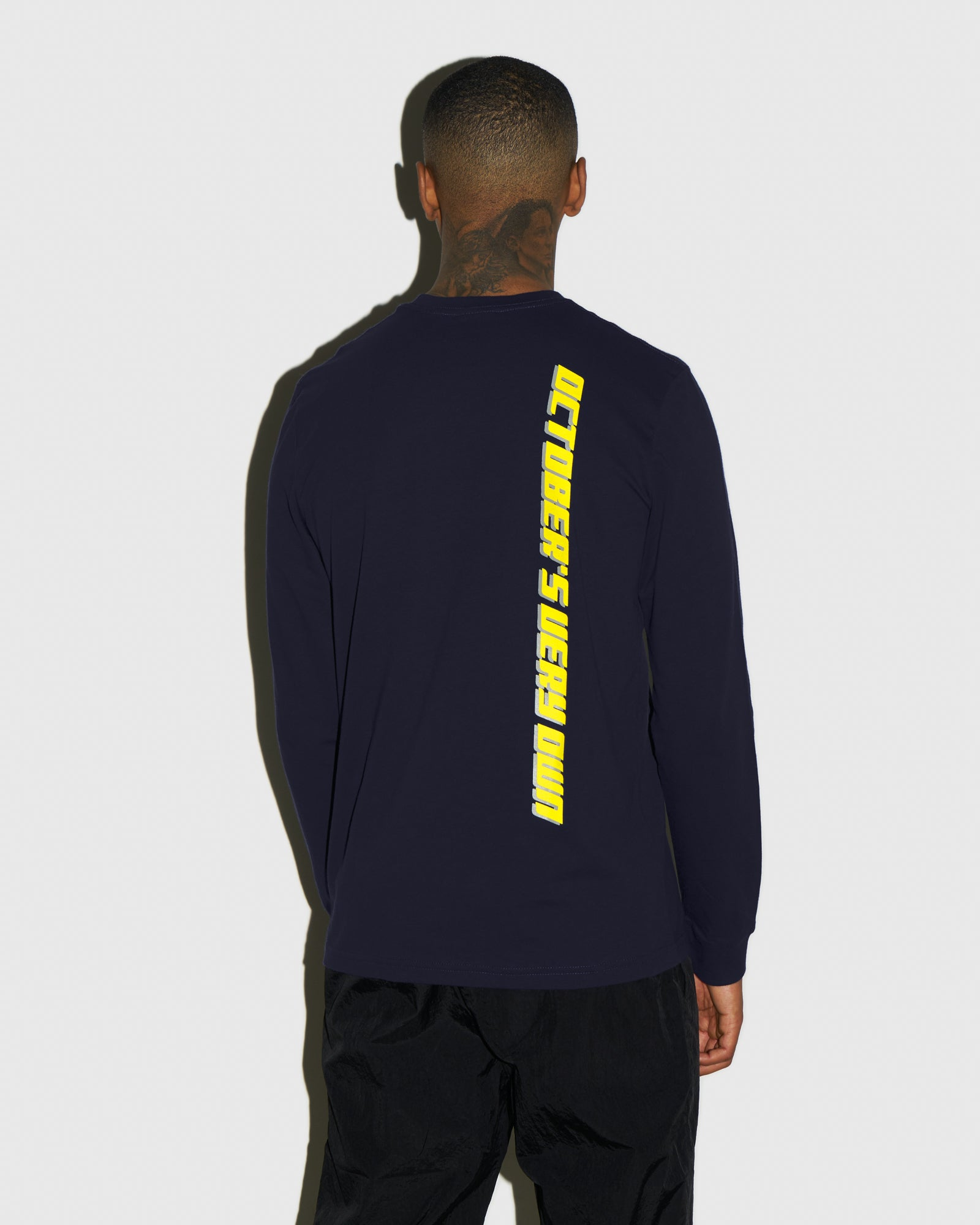 COMPETITION LONGSLEEVE T-SHIRT - NAVY IMAGE #3