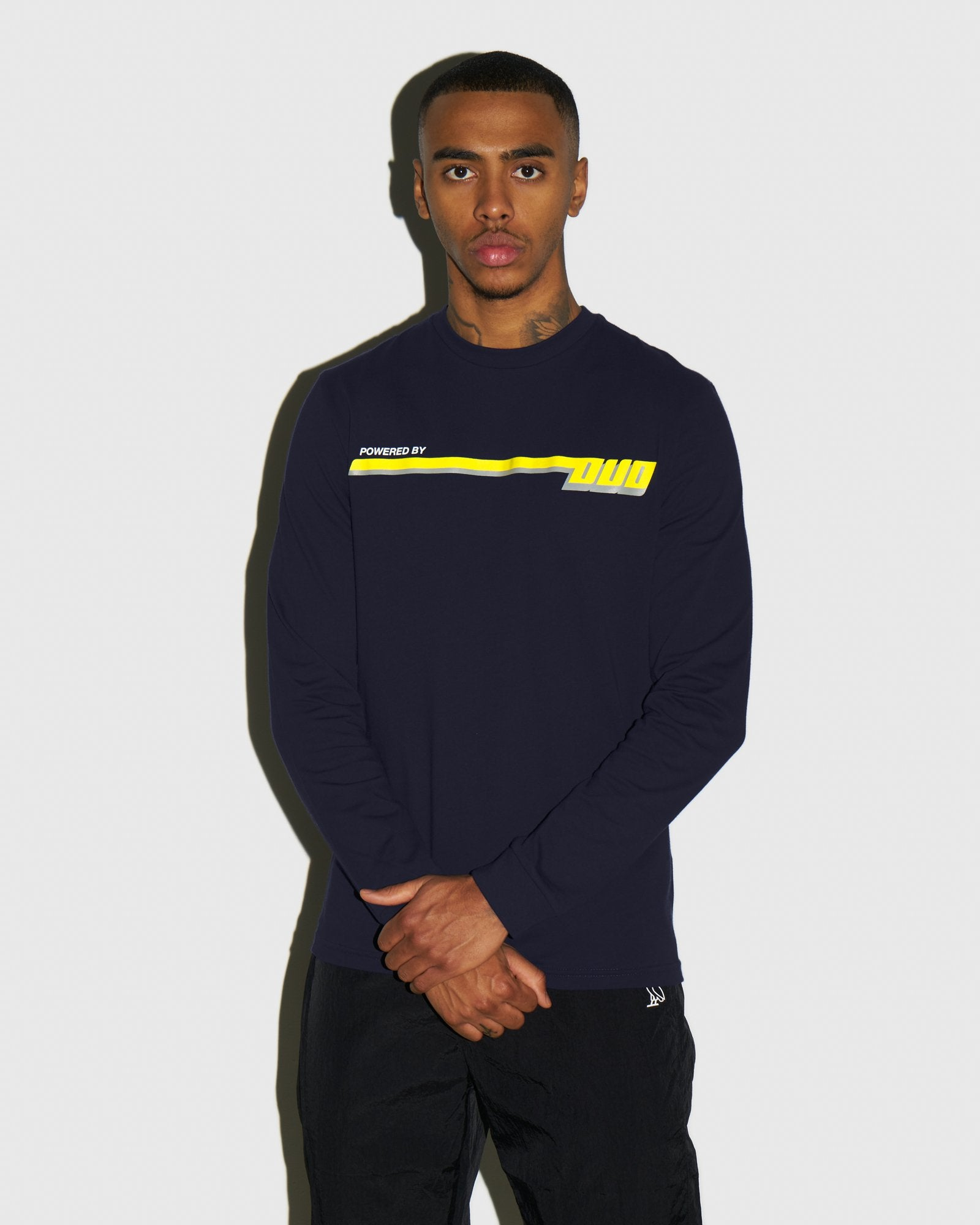 COMPETITION LONGSLEEVE T-SHIRT - NAVY IMAGE #2
