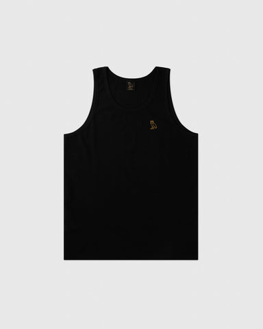OVO ESSENTIALS TANK TOP - BLACK