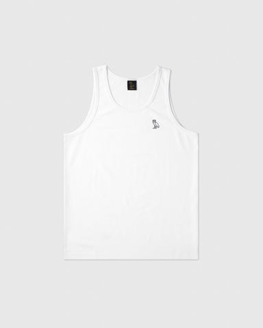 OVO ESSENTIALS TANK TOP - WHITE