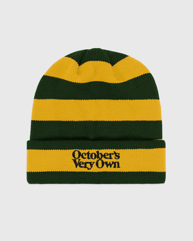 FAMILIA STRIPE BEANIE - YELLOW/GREEN