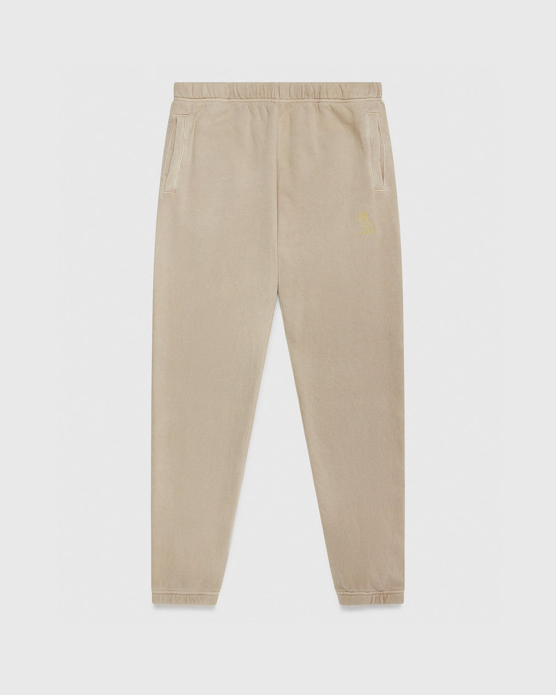 OVO GARMENT DYE SWEATPANT - PUTTY